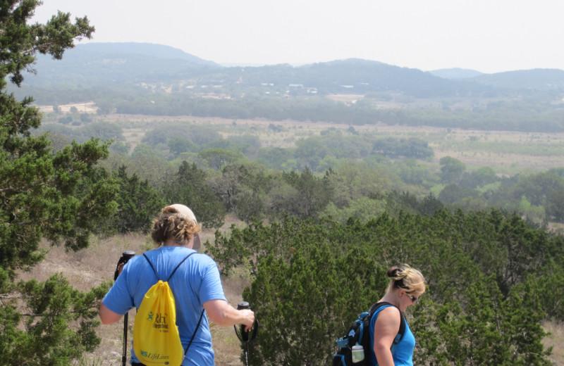 Hiking at Rancho Cortez.