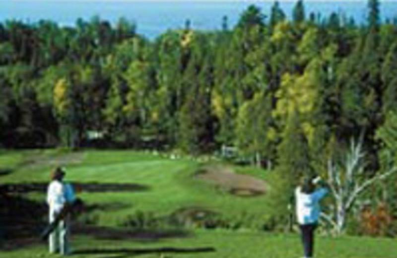 Golf course near Cascade Lodge.