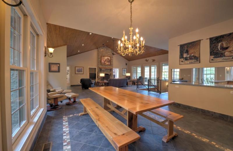 Rental interior at Carolina Mornings.