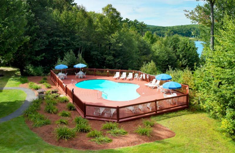 Outdoor pool at Summit Resort.