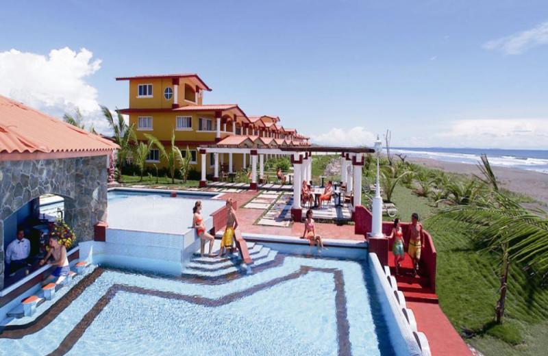 Exterior view of Las Olas Resort.