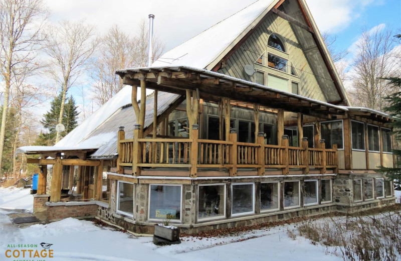 Rental exterior at All-Season Cottage Rentals.