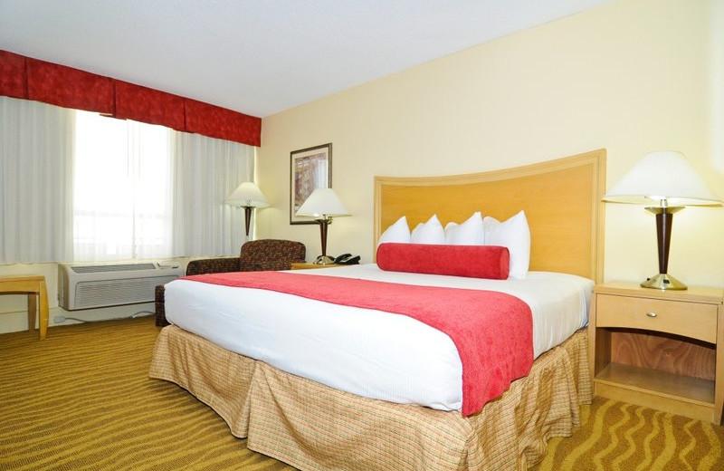 Guest room at Best Western Plus Oceanside Inn.