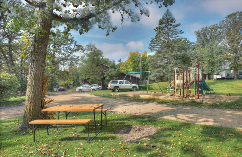 Playground at Whaley's Resort & Campground.