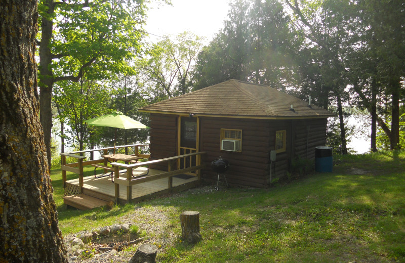 Cabin 3 at Blackduck Lodge & Resort.