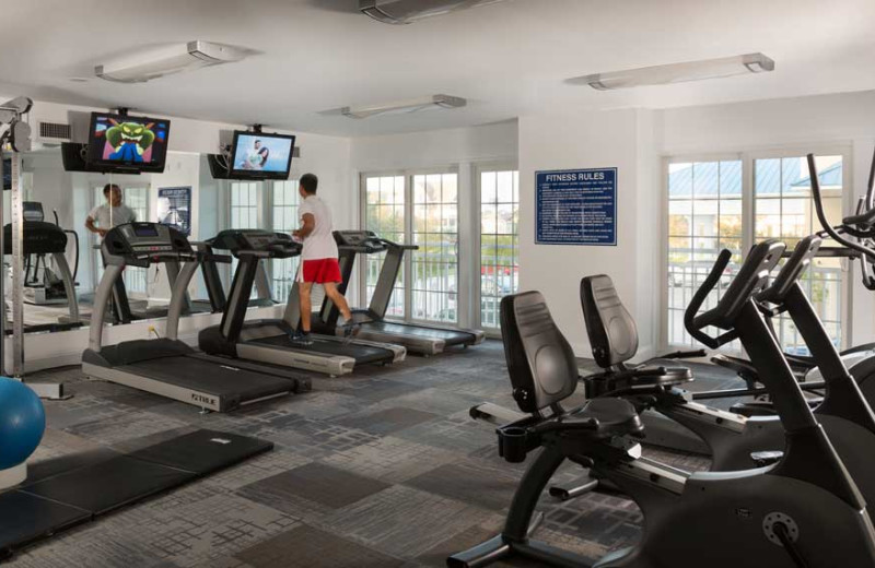 Fitness Center at La Mer Beachfront Inn