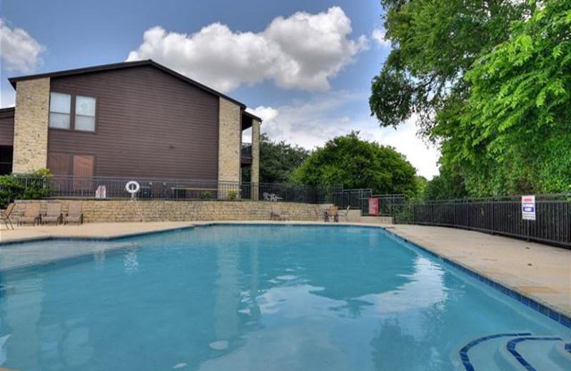 Condo pool at River City Resorts.
