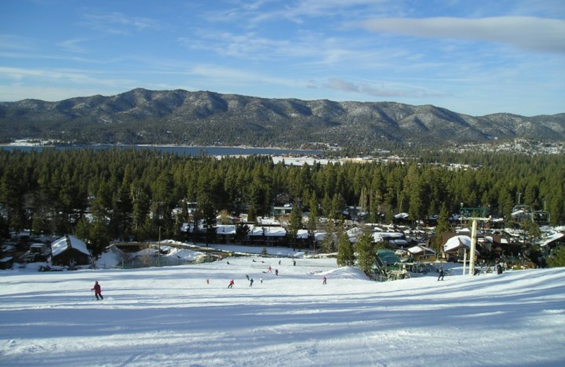 Skiing at Escape for All Seasons.