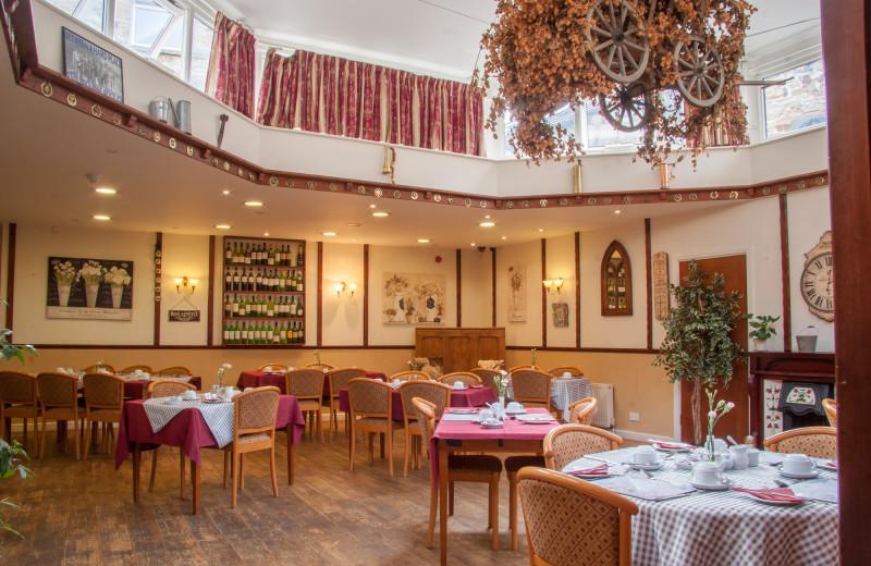 Dining at Buck Hotel.