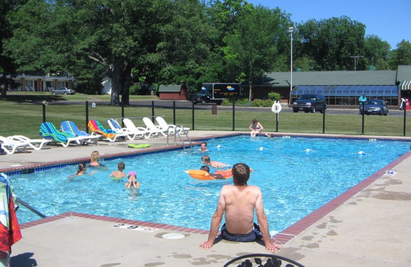 Outdoor Pool at the Indian Trail Motel