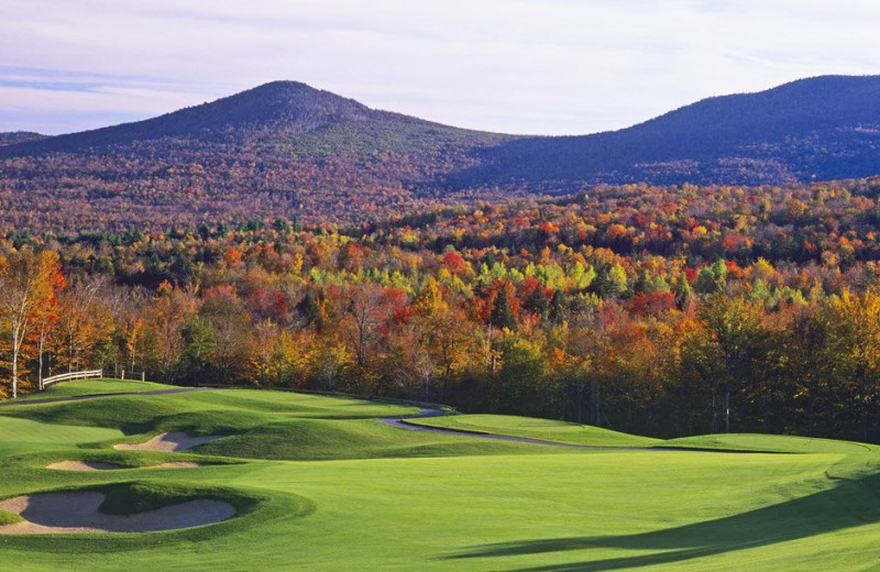 Golf near Stowe Vacation Rentals & Property Management.