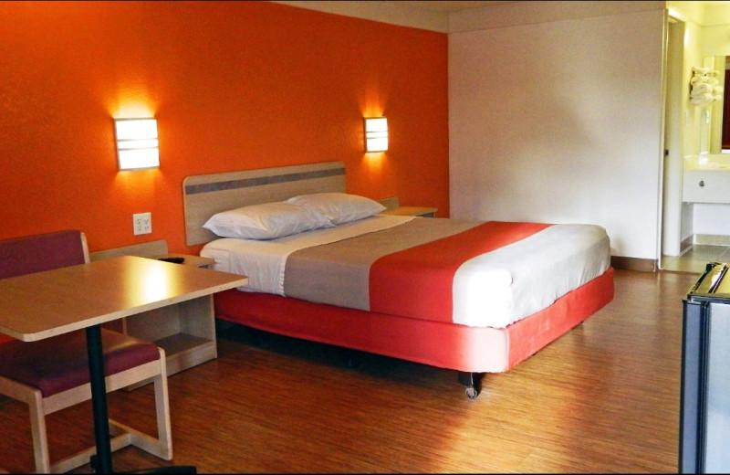 Guest room at Motel 6 - Benton Harbor