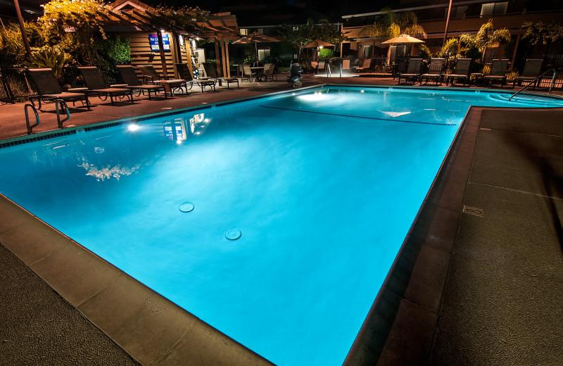 Outdoor pool at Best Western Seacliff Inn.