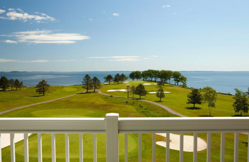Golf Course View at The Samoset Resort
