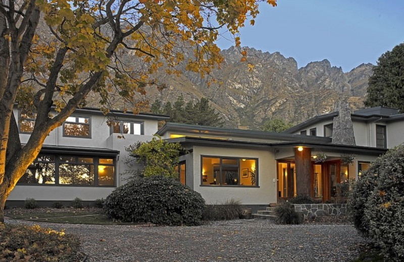 Exterior view of Remarkables Lodge.
