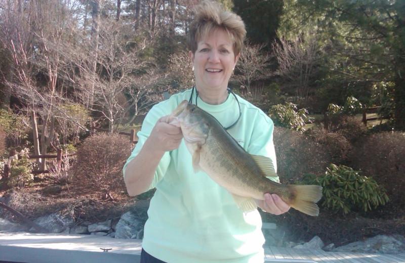 Fishing at The Greystone Inn.