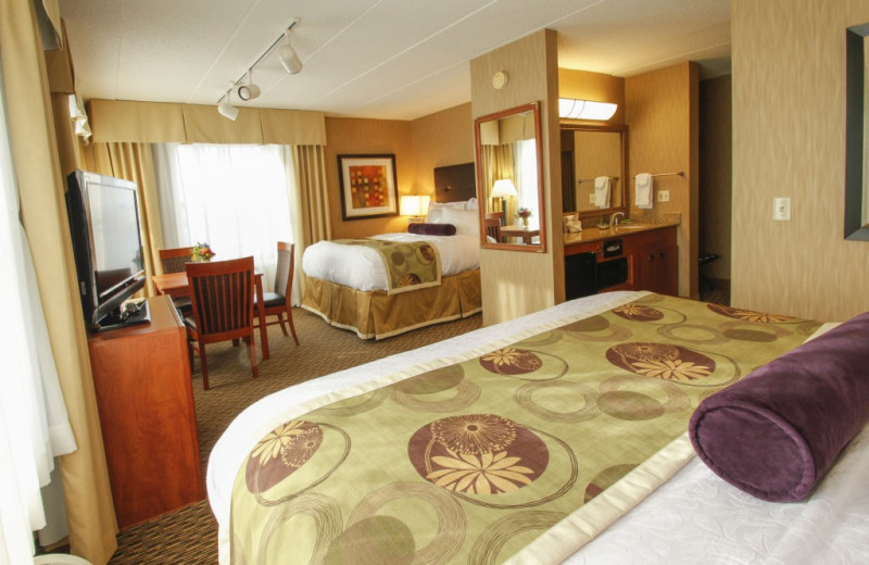 Guest suite at The Inn on Lake Superior.