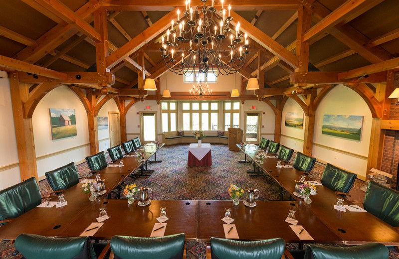 Meetings at Trapp Family Lodge.