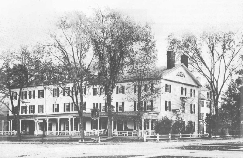 Historic photo of Red Lion Inn.
