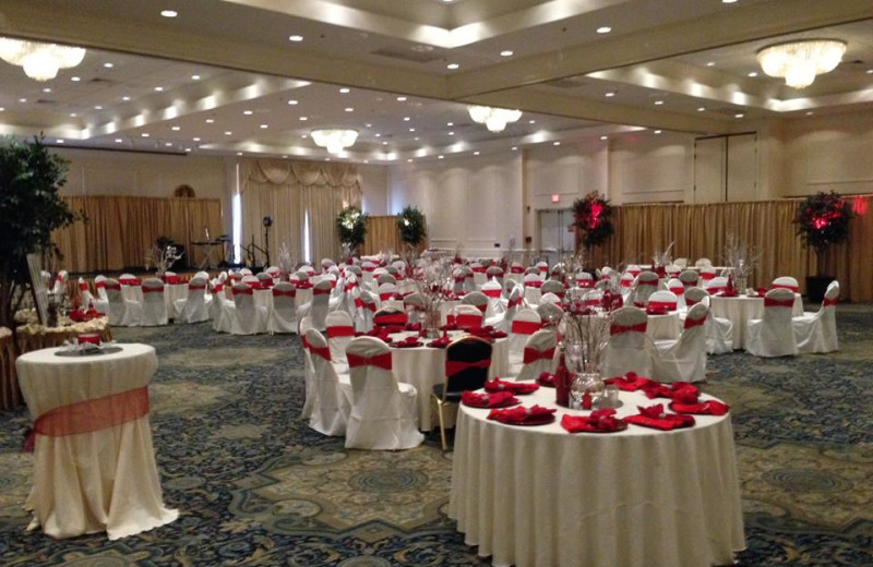 Wedding reception at Clarion Resort Fontainebleau.