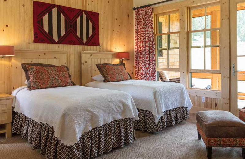 Guest room at 4UR Ranch.