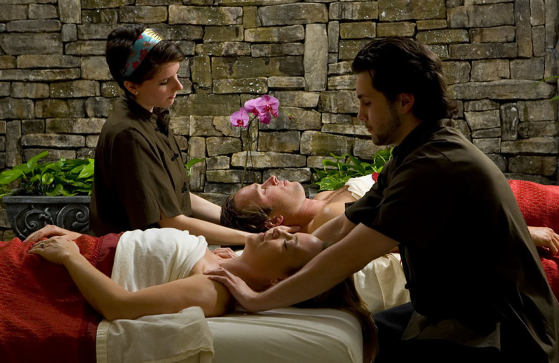 Spa at La Tourelle Hotel & Spa.