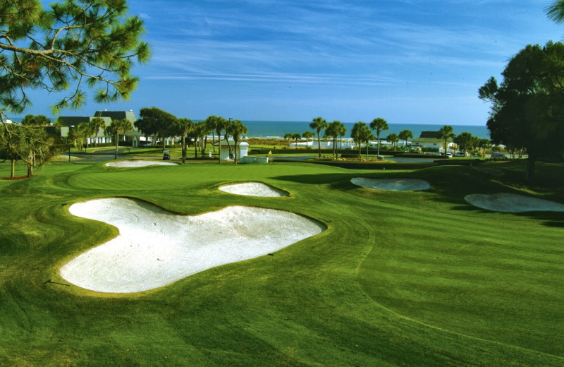 Golf course near Ocean Reef Resort.