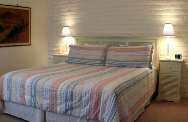 Guest room at Napa Valley Resort at Silverado.