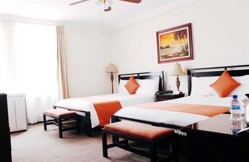 Guest room at Gran Hotel Costa Rica.