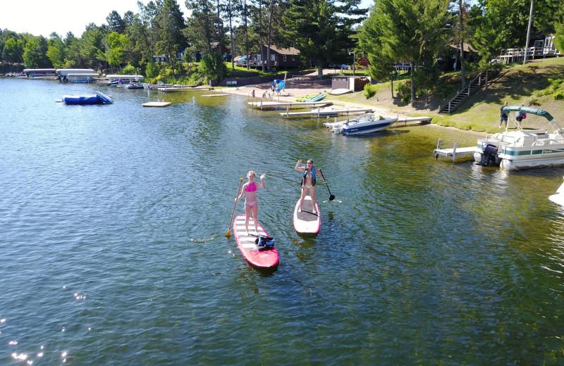 Lake at Bay View Lodge.