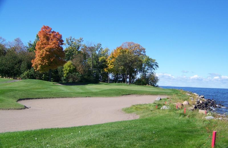 Golf course near McQuoid's Inn & Event Center.
