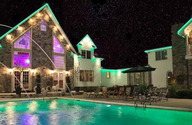 Outdoor Pool at the Chelsea Sun Inn