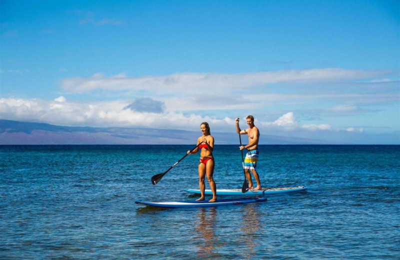 Paddle board at Honua Kai Resort & Spa.