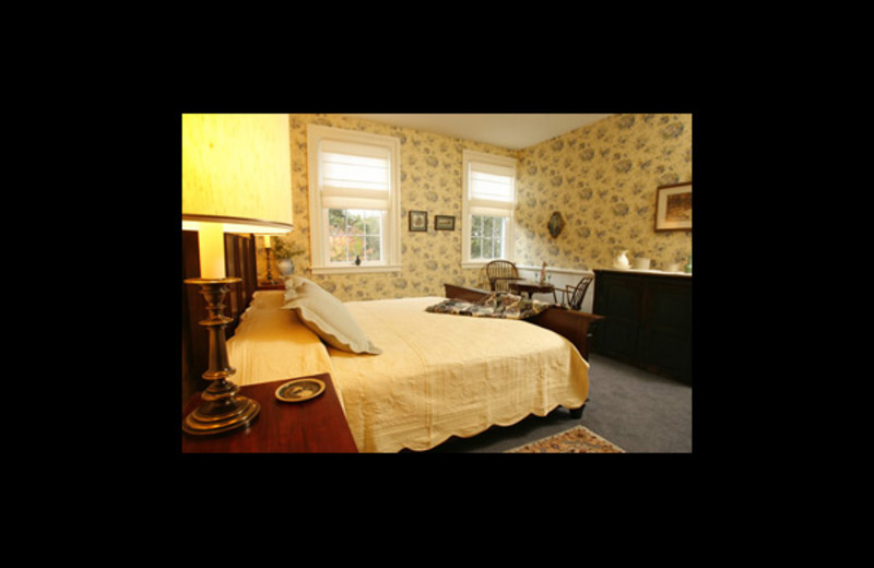 Guest room at Temple Hill Bed & Breakfast.