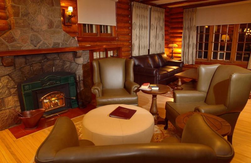 Lounge at Elkhorn Manor.