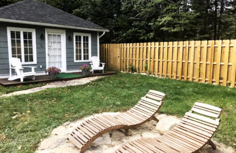 Cottage yard at GO-Cottage.