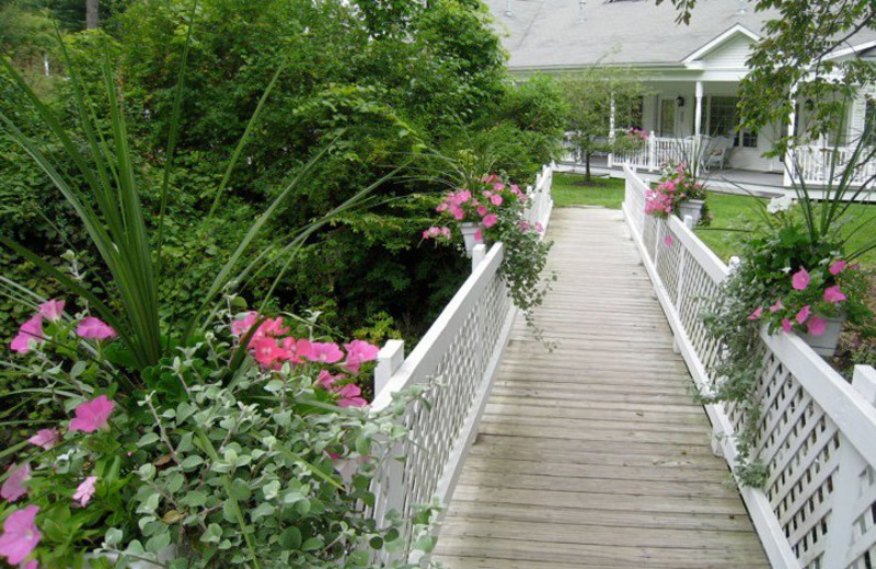 Walkway at Barnside Luxury Inn