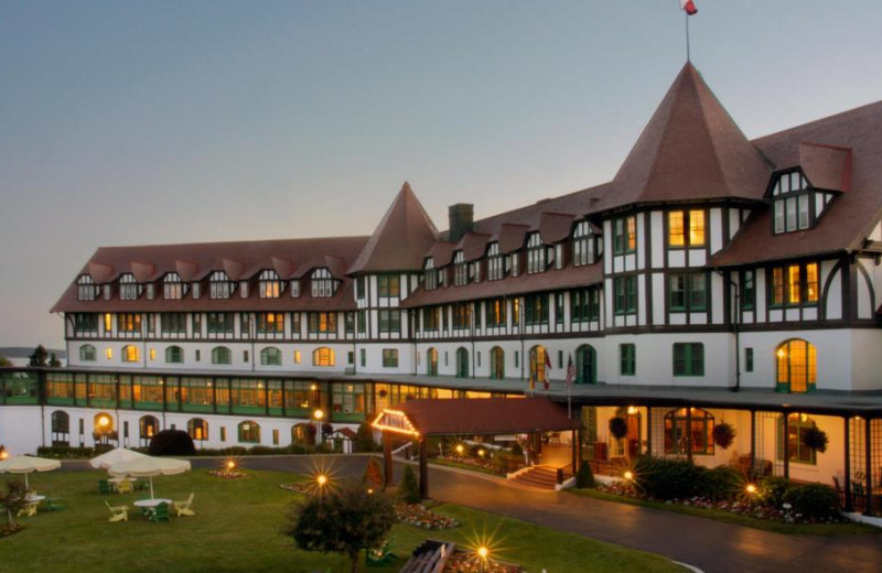 Exterior view of The Algonquin Hotel & Resort.