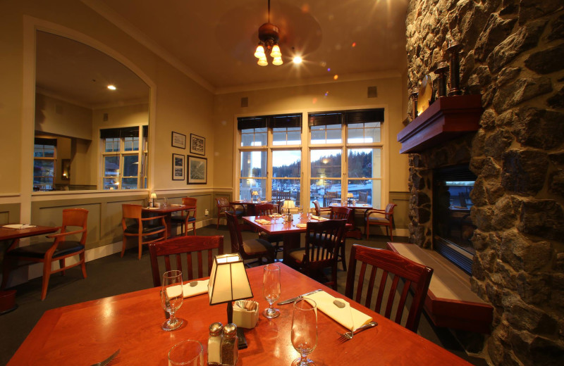 Dining at The Resort at Port Ludlow.