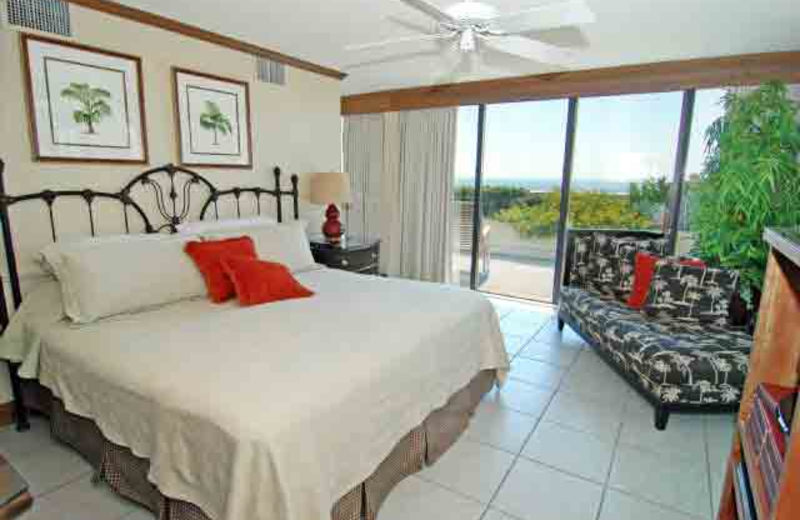 Guest room at McMillan Real Estate.