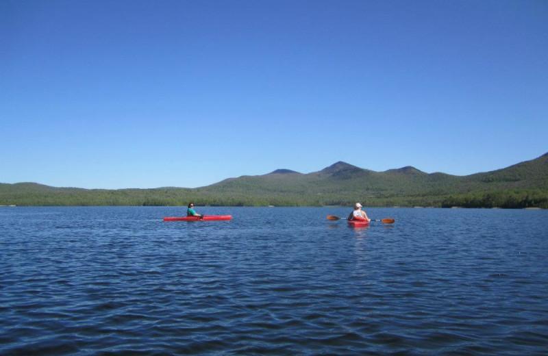 Kayaking at The Mountain Top Inn & Resort.