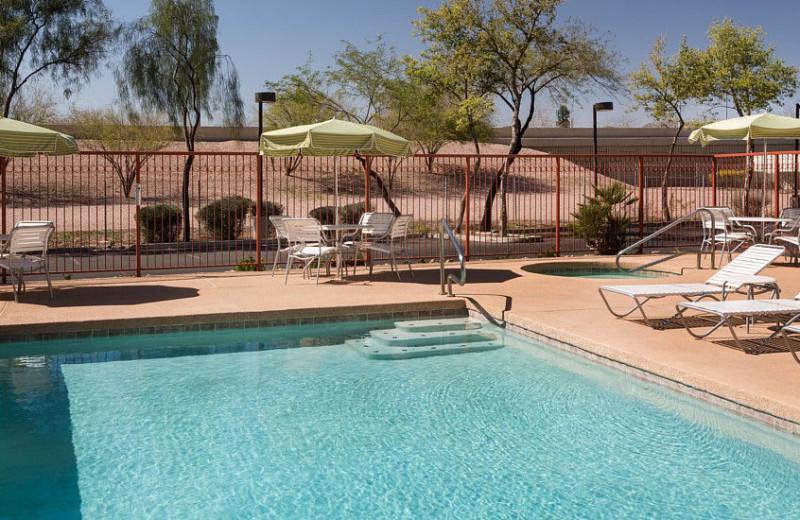 Outdoor pool at Fairfield Inn Phoenix Chandler.