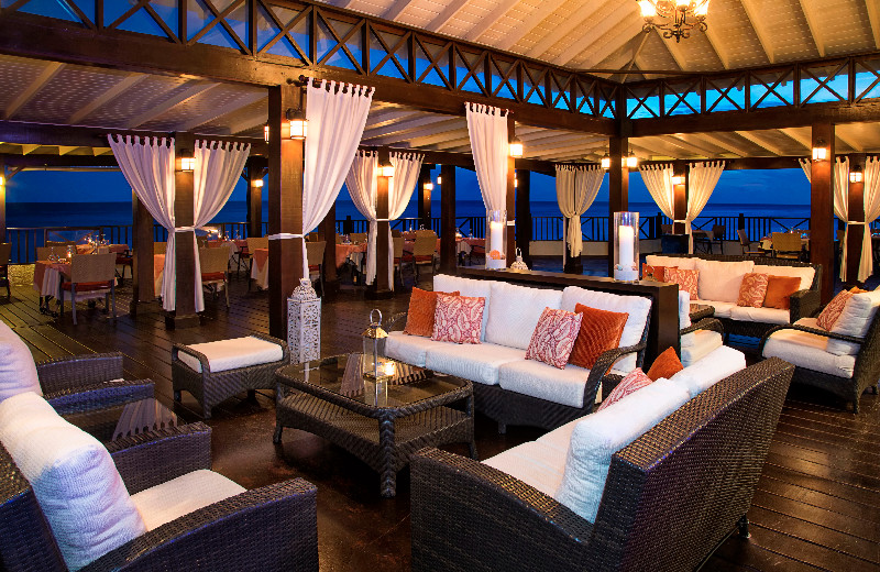 Dining at Sea Breeze Beach Resort