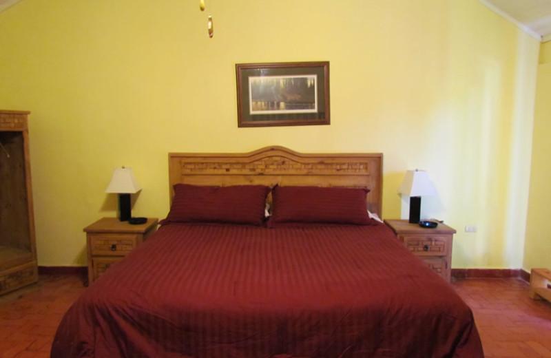 Guest room at Lago Vista Lake Guerrero.