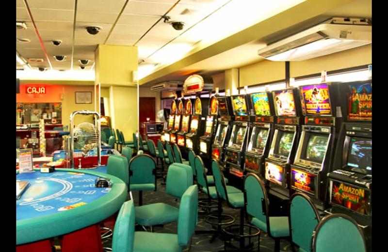 Casino at Casa Morazan.