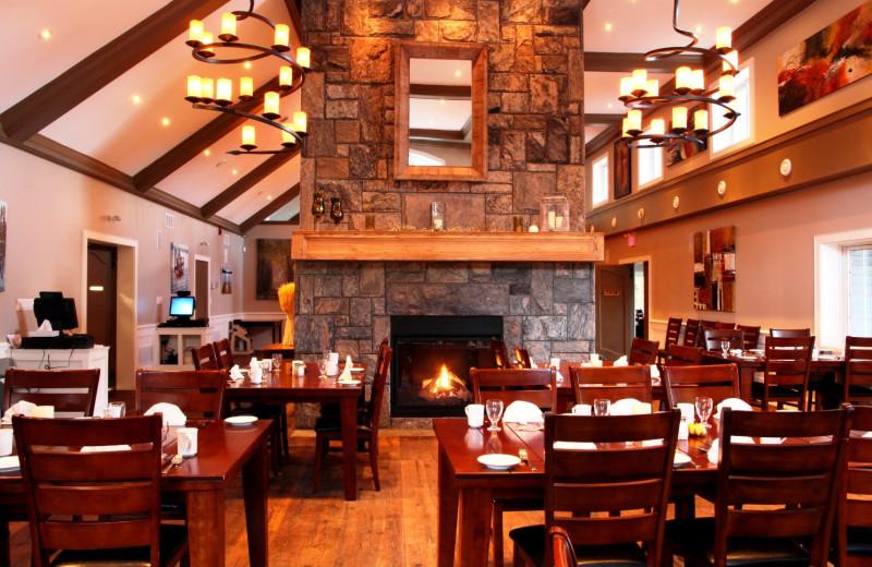 Dining at Patterson Kaye Resort.