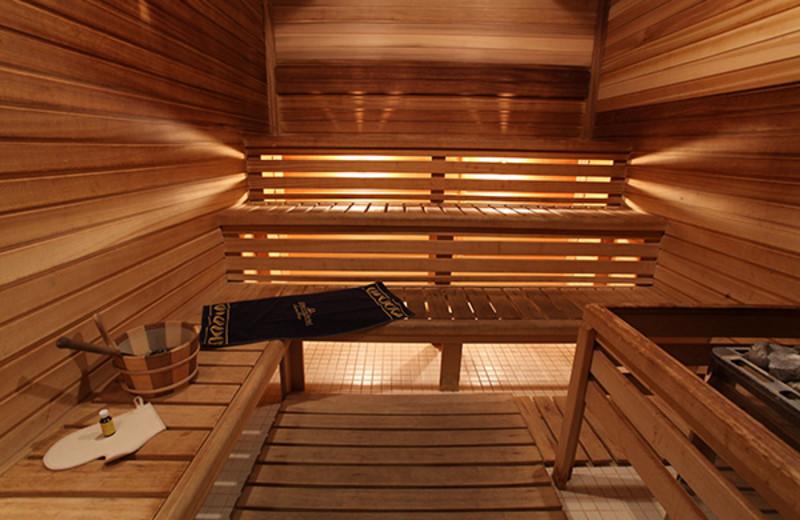 Sauna at Golden Ring Swiss Diamond Hotel.