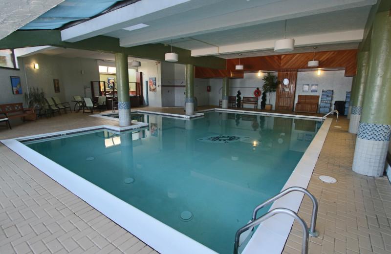 Indoor pool at Atlantic Oceanside Hotel & Conference Center.