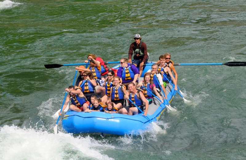 Rafting at Spring Creek Ranch