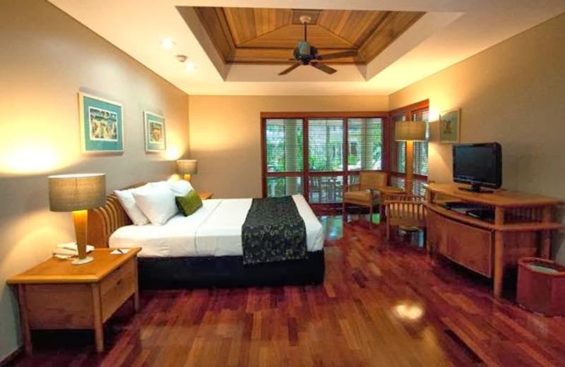 Guest room at Green Island Resort.